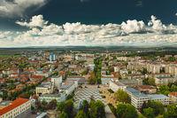 Облачно кадифе  над централния площад; comments:3
