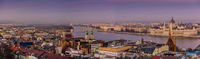 Будапеща от Рибарските кули / Budapest from Fisherman's Bastion; comments:7