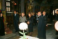 Шведския крал със съпругата си на посещение в нашата църква.; comments:4