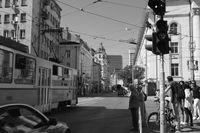 На пресечката на ул. Алабин и бул. Витоша; No comments