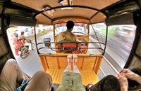 На път с рикша.; No comments