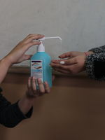 Ще си дезинфекцираш ли ръцете с мен?/Will you sanitize your hands with me?; comments:1