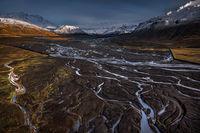 Ледникови реки от ледника Eyjafjallajökull; comments:9
