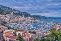 Монте Карло погледнато от Монако-Виль; comments:2