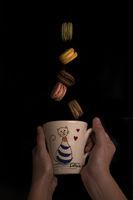 Кафе с дъх на макарони.; comments:4