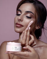 Face mask advertisement for Althea; comments:2