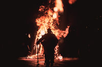 Burning man; comments:1