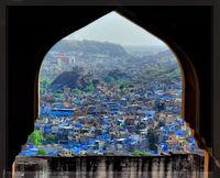 Синият град в Индия.; comments:6