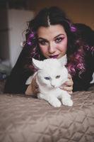 Вещицата с котката; No comments