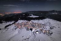 Зимни Родопи в полунощ на пълнолуние.; comments:8