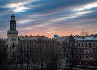 City Sunset; No comments