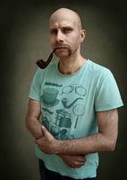 Портрет на мъж с лула; comments:6