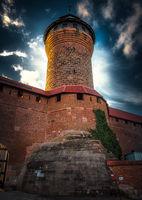 Централната кула на крепостта в Нюрнберг; comments:1