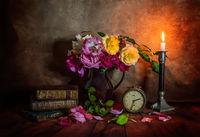 Натюрморт с прецъфтели рози; comments:8