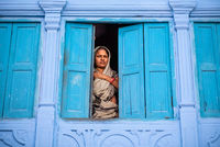 Woman in from the Blue City, Jodhpur; comments:4