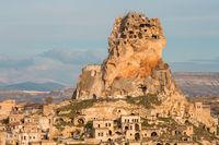 замъка Учхисар и скалните домове; comments:1
