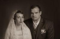 1930's wedding portrait; comments:2