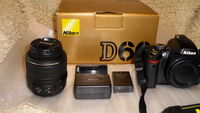 Фотоапарат NIKON  D60 и обектив NIKON AF-S 18-55mm DX  VR