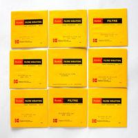 Kodak и Dedolight желатинови филтри