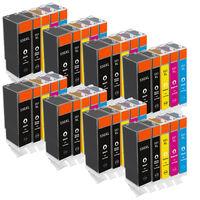 5 бр. комплект XL тонери / касети / мастилници за Канон от Германия, с чип Pgi-550 Cli-551 - cartridge for Canon