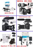 Микрофони за ДСЛР и видеокамери/кабелни и безжични/-от 31 до 170 лева