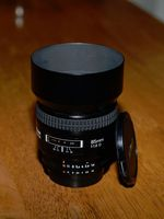 Nikon Nikkor AF 85mm F/1.8 D AF, Отлично състояние!
