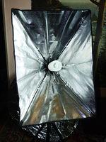 Продавам нов Сгъваем софтбокс 50cmx70cm с статив 2 метра