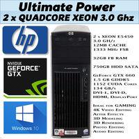 HP xw 6600 GAMING / Workstation, 32gb RAM / GTX 660