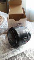 Обектив Canon EF 50mm f/1.8 II