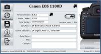 CANON EOS 1100D + EF 18-55mm IS (като нов, пълен комплект)