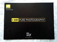 Nikon - 2 брошури/списания за моделите Df и D750 , внос от Англия