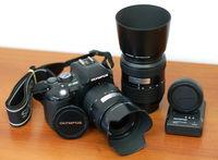 Olympus E-500 (kit) 14-45 и 40-150 - отличен!