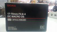 Sigma 17-70mm f2.8-4 dc macro os