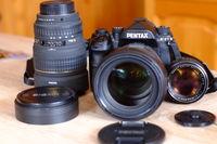 Нов Pentax K-1 + 24-70 + 15-30 + 55/1.2
