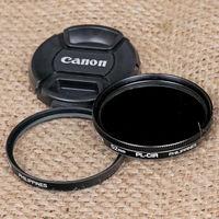 Филтри и капачка за обективи 52 мм + преходник 49/52мм
