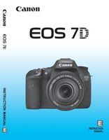 Купувам ръководство на Български за Canon EOS 7D