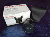 Samyang 14mm T3.1 Cine Lens for Nikon