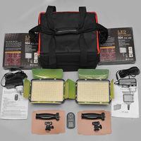Осветление 2 х 504pcs LED 2.4G  + захранване за ток + чанта + дистанционно