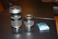 Продавам Canon EF-S 55-250mm f/4-5.6 IS  Canon EF-S 18-55 IS