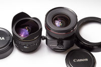 24mm f/3.5L ts-e и 15mm f/2.8 fisheye