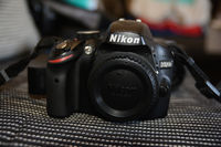 Фотоапарат Nikon D3200 Black kit (Nikkor 18-55mm f/3.5-5.6 VR II)
