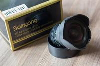 Продавам обектив Samyang 14mm F2.8 за Canon като нов