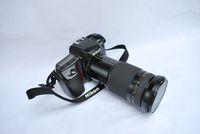 NIKON -F 50   тяло и  обектив-Tokina   AF   28-210mm. 3,5-5,6