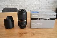 Продавам обектив Tamron SP 70-300mm F/4-5.6 Di VC USD за Nikon