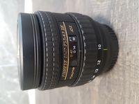 Tokina AT-X AF 10-17/3,5-4,5 NH Fisheye за Nikon DX и FX