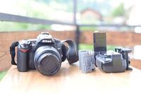 Nikon D90 + Обектив 18-55 (f 3.5 - 5.6)