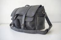 Фотографска чанта Gusti Leather естествена кожа