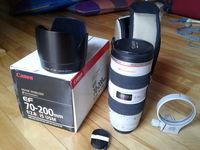 Обектив Canon EF 70-200mm f/2.8L IS USM