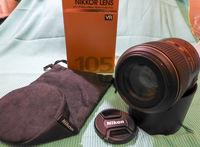 Продавам Nikon AF-S VR Micro- Nikkor 105mm f/2.8G IF-ED