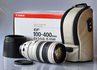 Canon EF 100-400mm f4.5-5.6L IS USM, неупотребяван